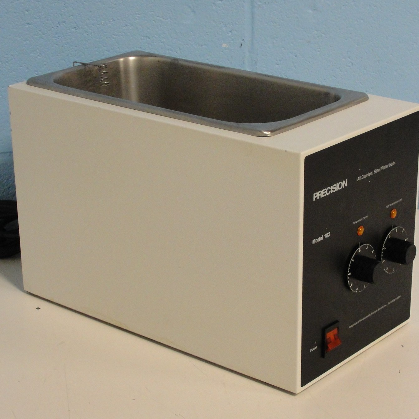 Precision Scientific Model 182 Stainless Steel Water Bath Image