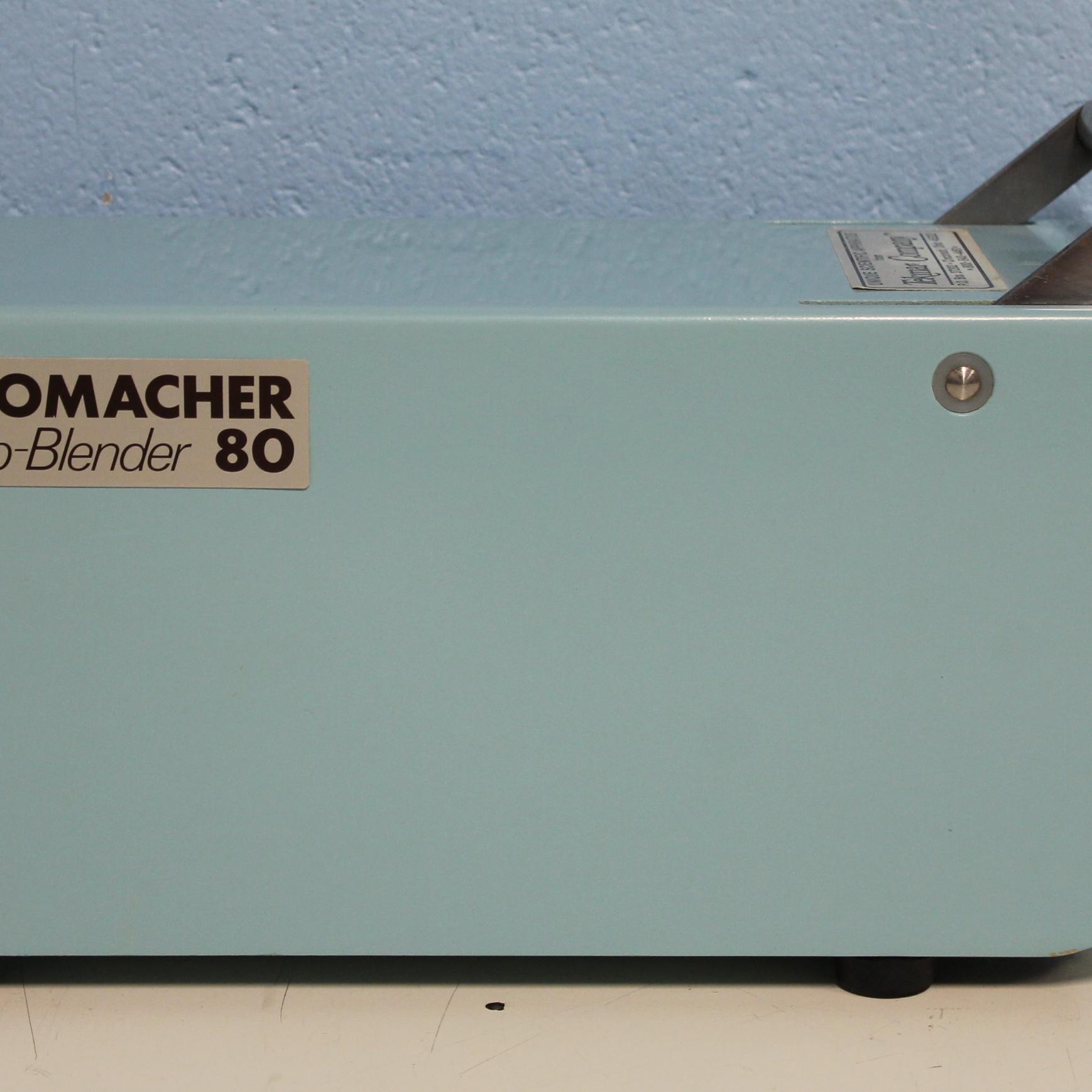 Refurbished Tekmar Stomacher Lab Blender STO 80