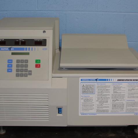 Sorvall Super T 21 Refrigerated Centrifuge Image