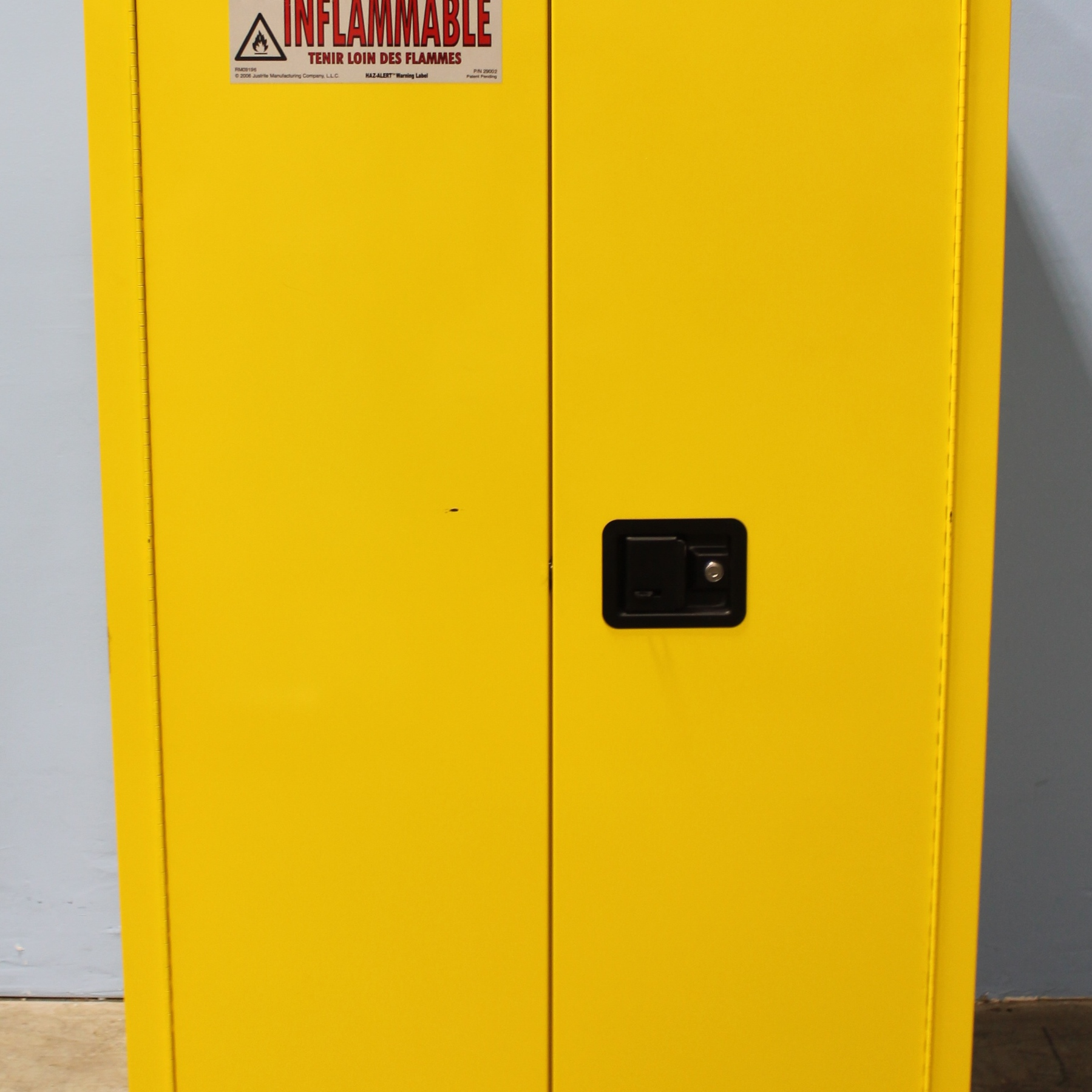 Justrite Flammable Cabinets | Sobkitchen