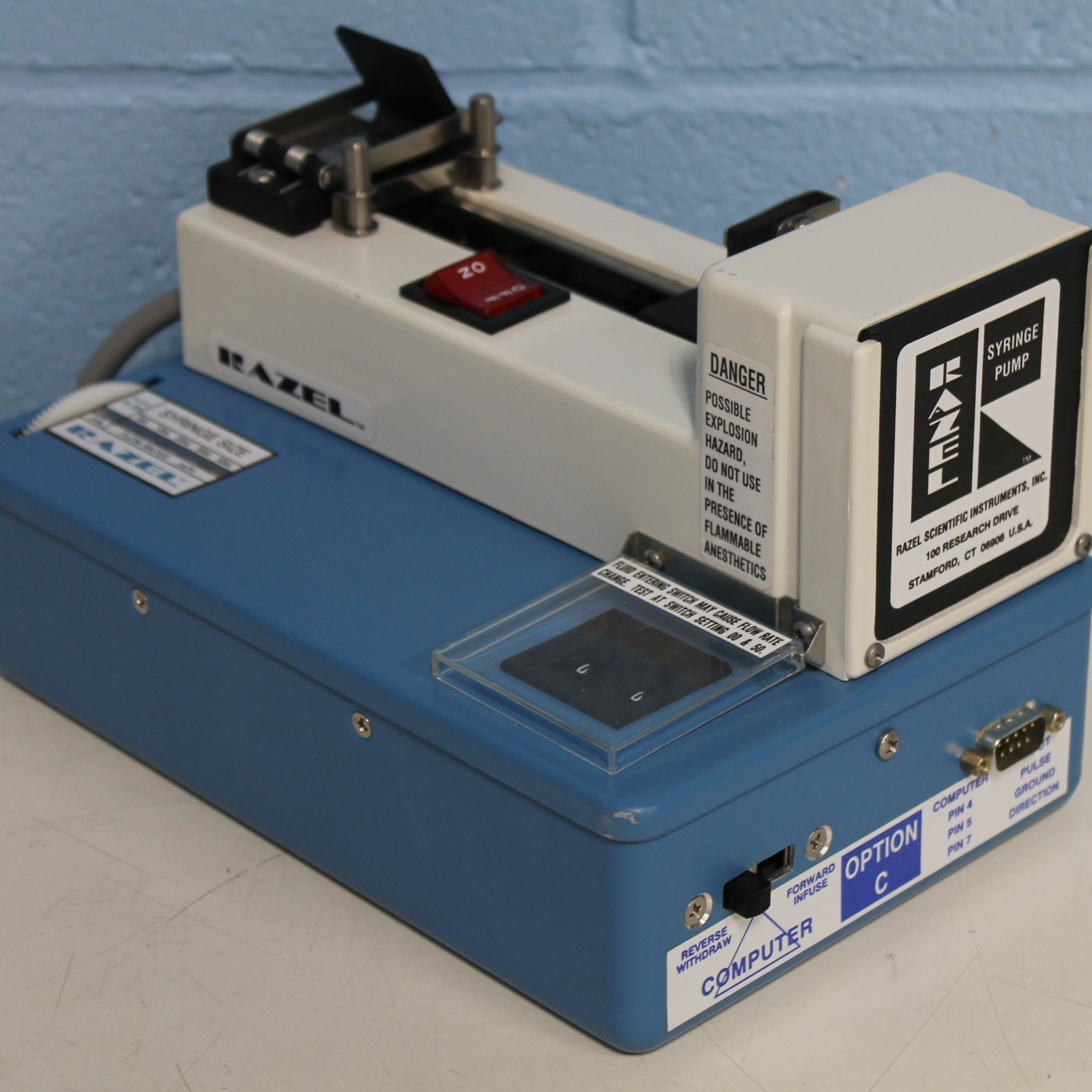 Razel Scientific Syringe Pump Model A-99.BCEH Image