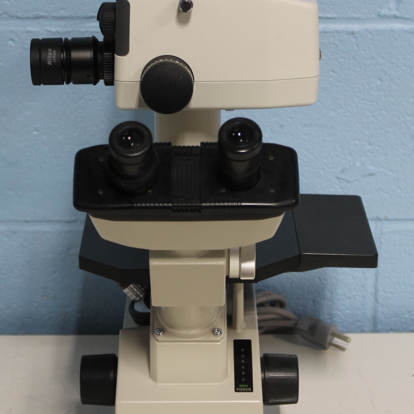 Refurbished Nikon Tms Inverted Phase Contrast Microscope