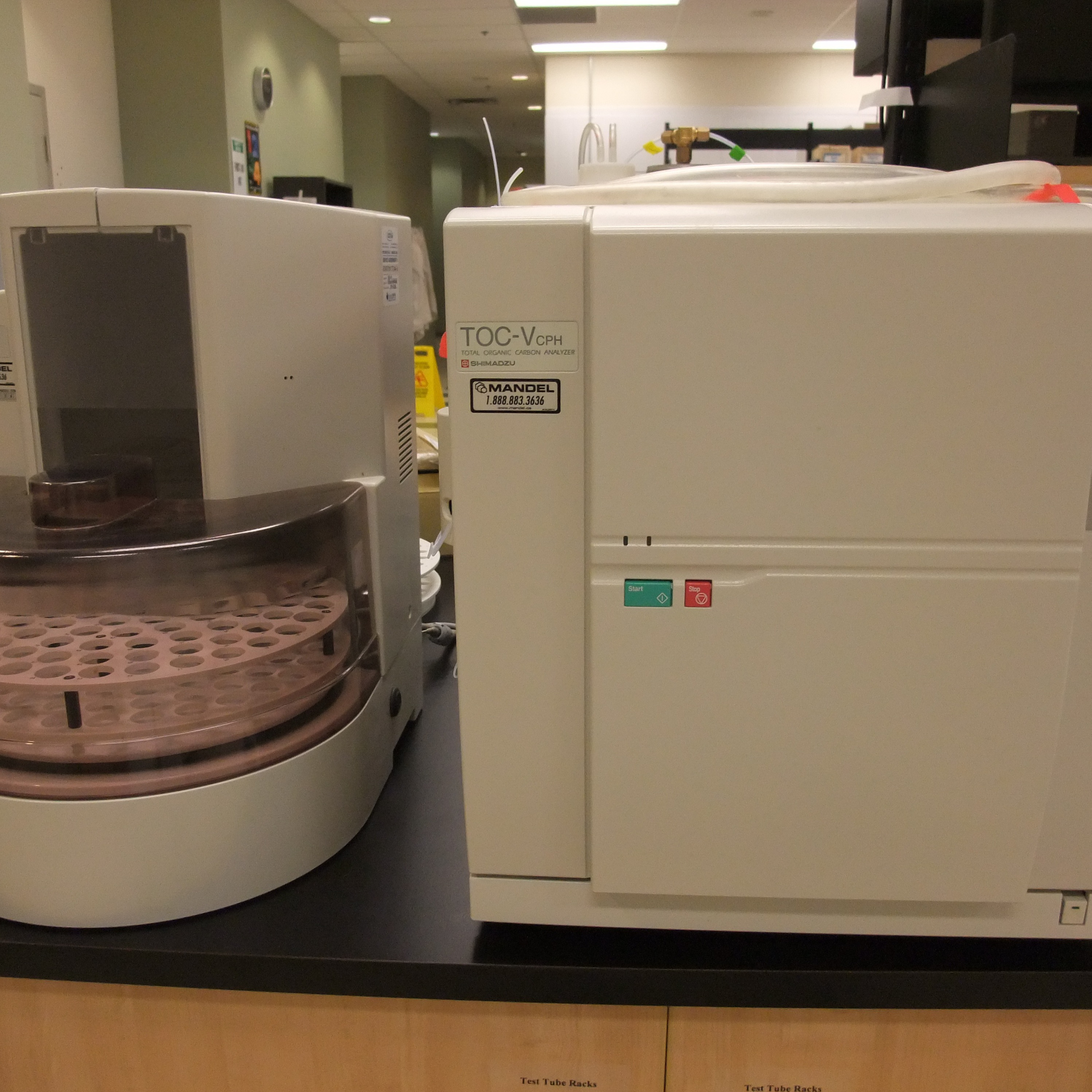 Shimadzu TOC Analyzer Model TOC V-CPH w/ Autosampler Model ASI-V Image