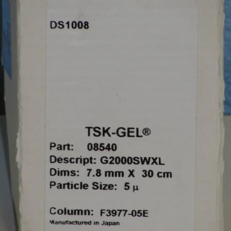 TOSOH Bioscience TSK-GEL G2000SWXL Column Image