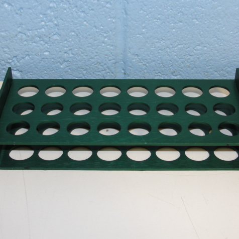 Beckman Tube Rack, 16 mm, 5/8 in P/N 348123 Image