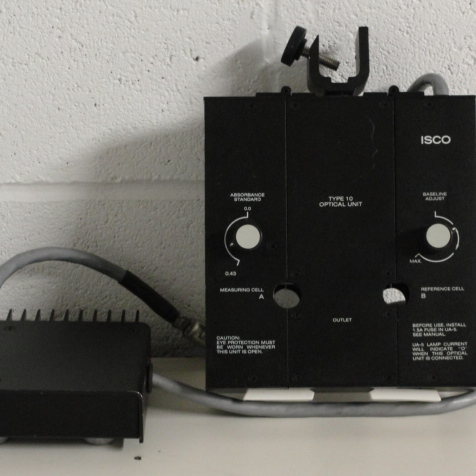 ISCO Type 10 Liquid Chromatography Optical Unit Image