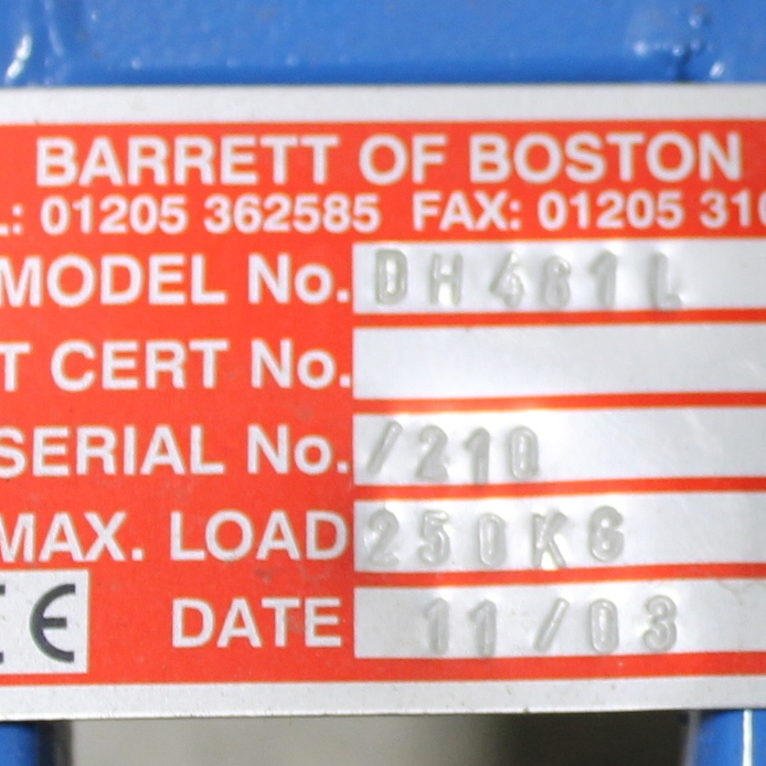 Barrett of Boston Universal Drum Transporter Image