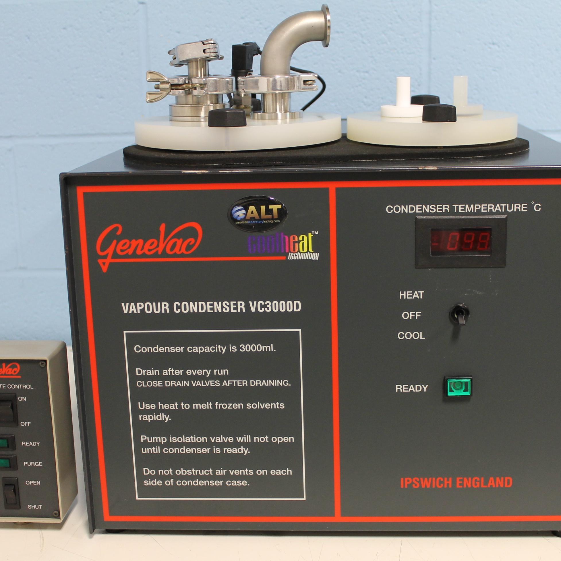 VC3000D Vapour Condenser Name