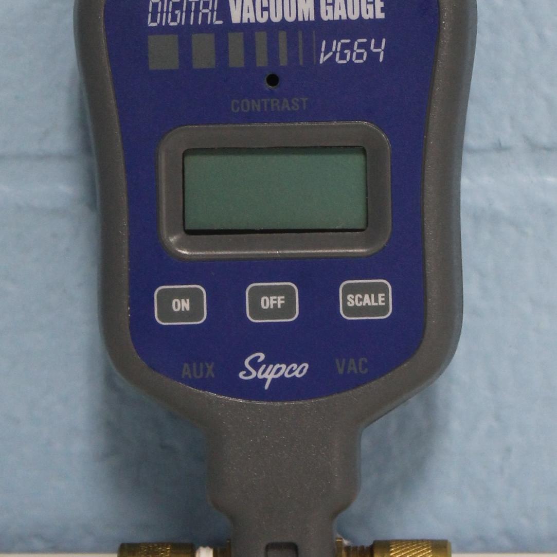 VG64 Digital Vacuum Gauge Name
