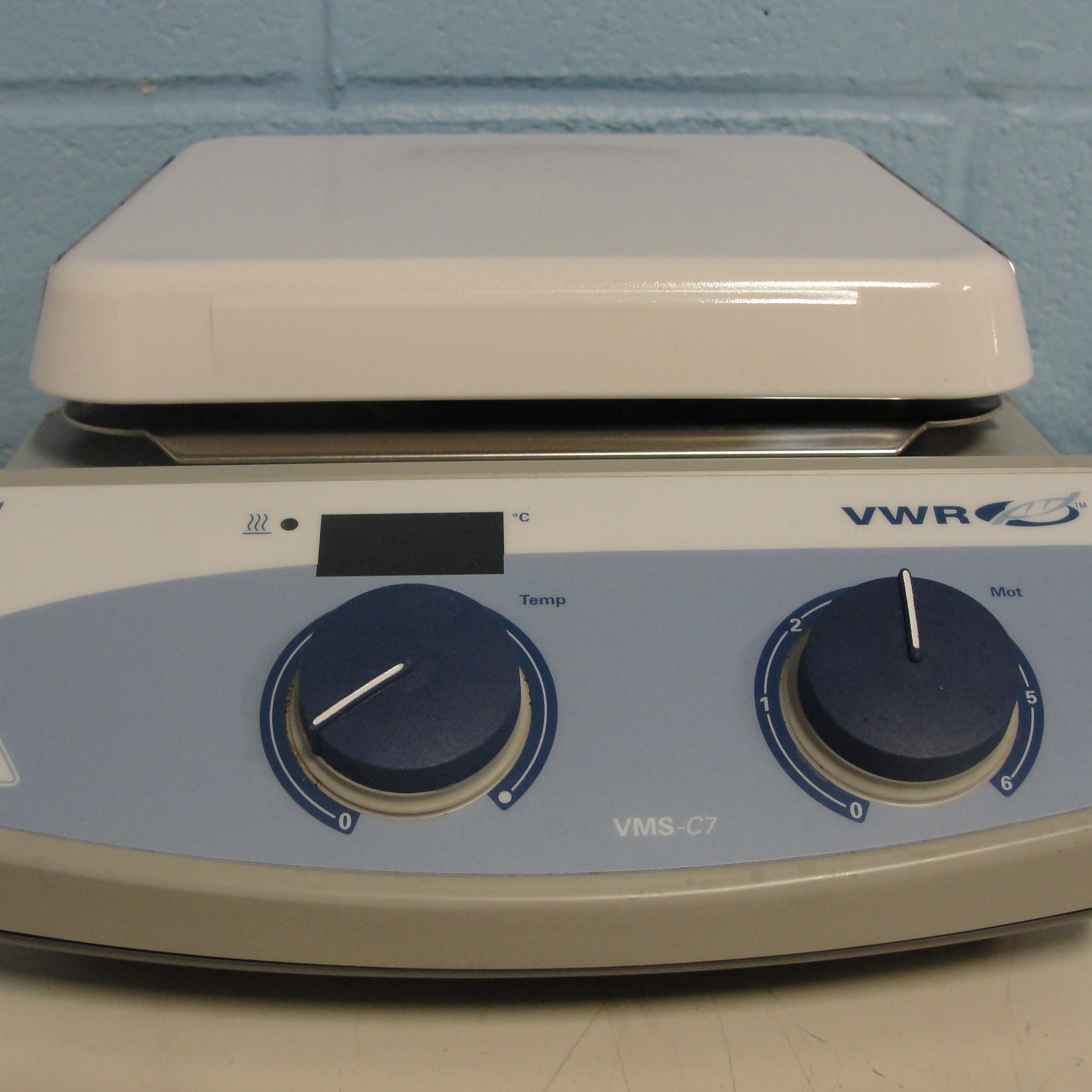 VWR VMS-C7 Advanced Digital Hot Plate Stirrer Image