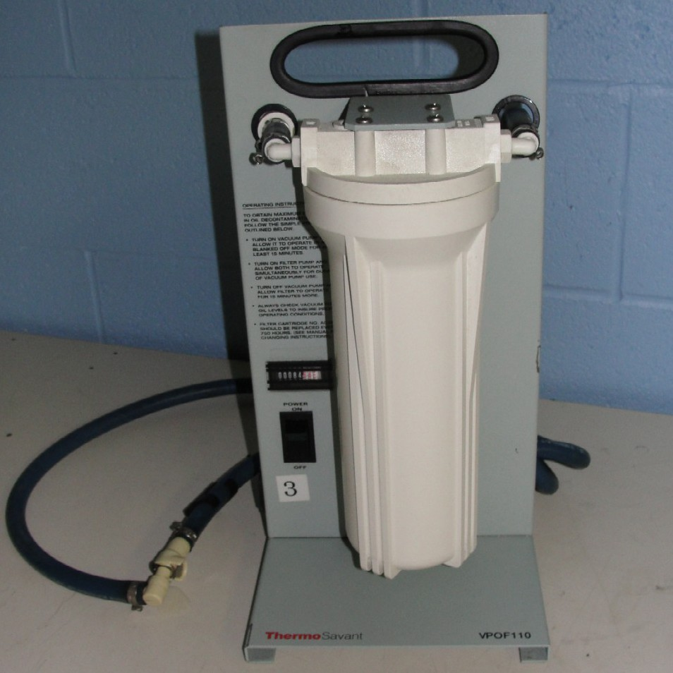 VPOF110 Speed Vac Recycler Name
