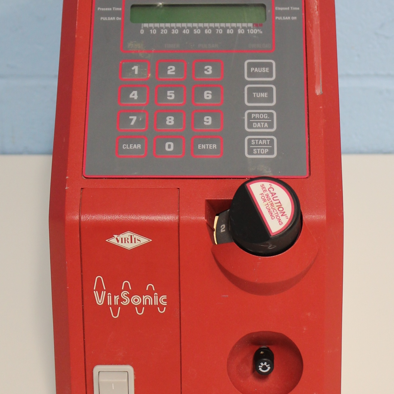 Virsonic 600 Ultrasonic Cell Disruptor Name