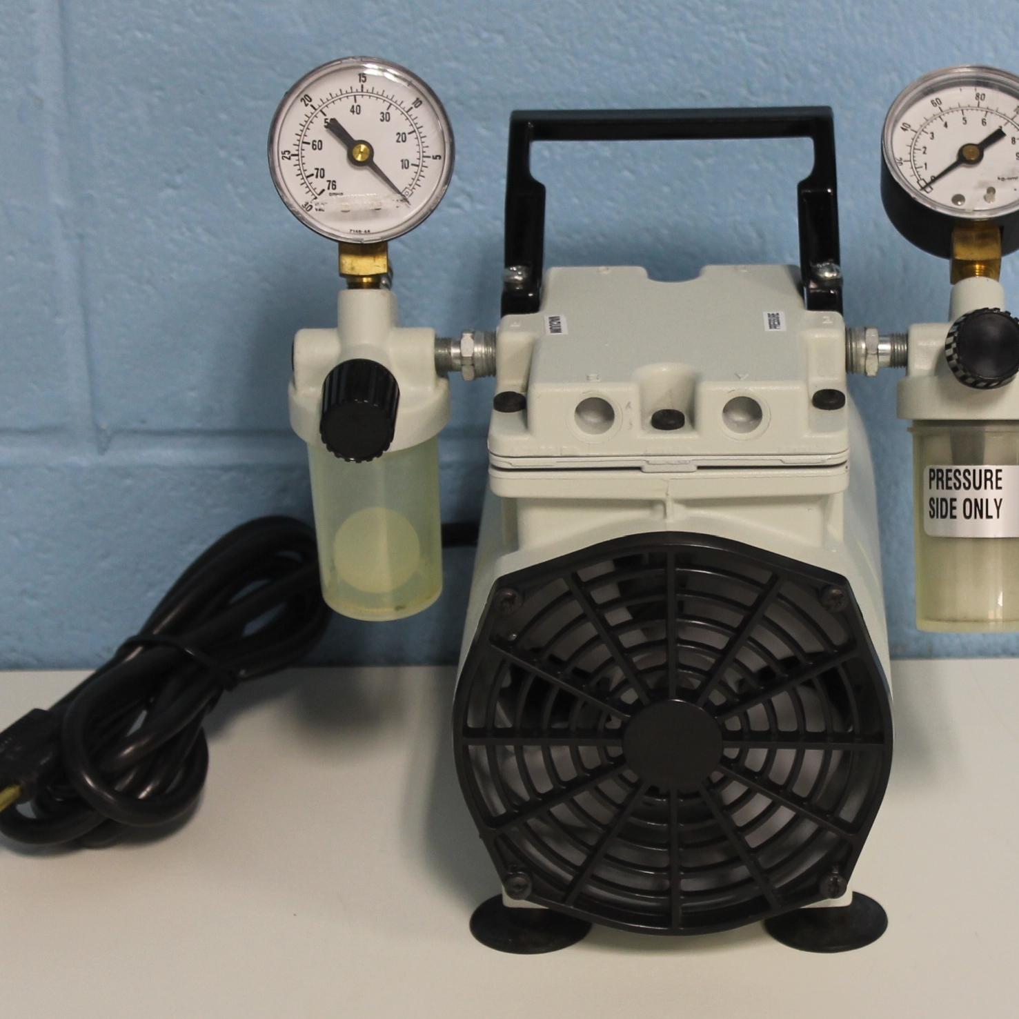 WOB-L Piston Pressure Vacuum Pump Model 2522B-01 Name