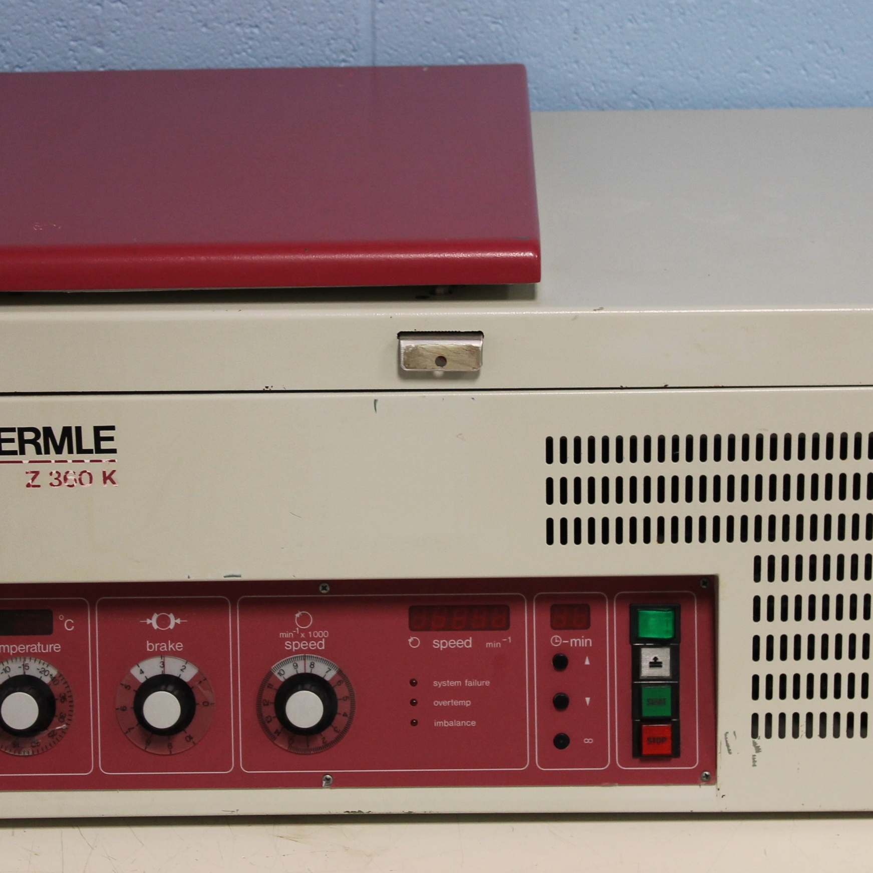 Hermle Z 360 K Refrigerated Centrifuge Image