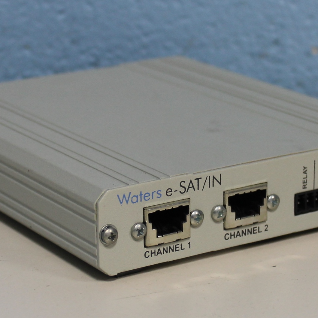 Waters e-SAT/IN Interface Image