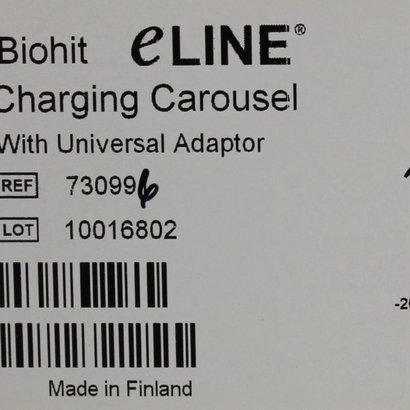 BioHit eLINE Charging Carousel Image