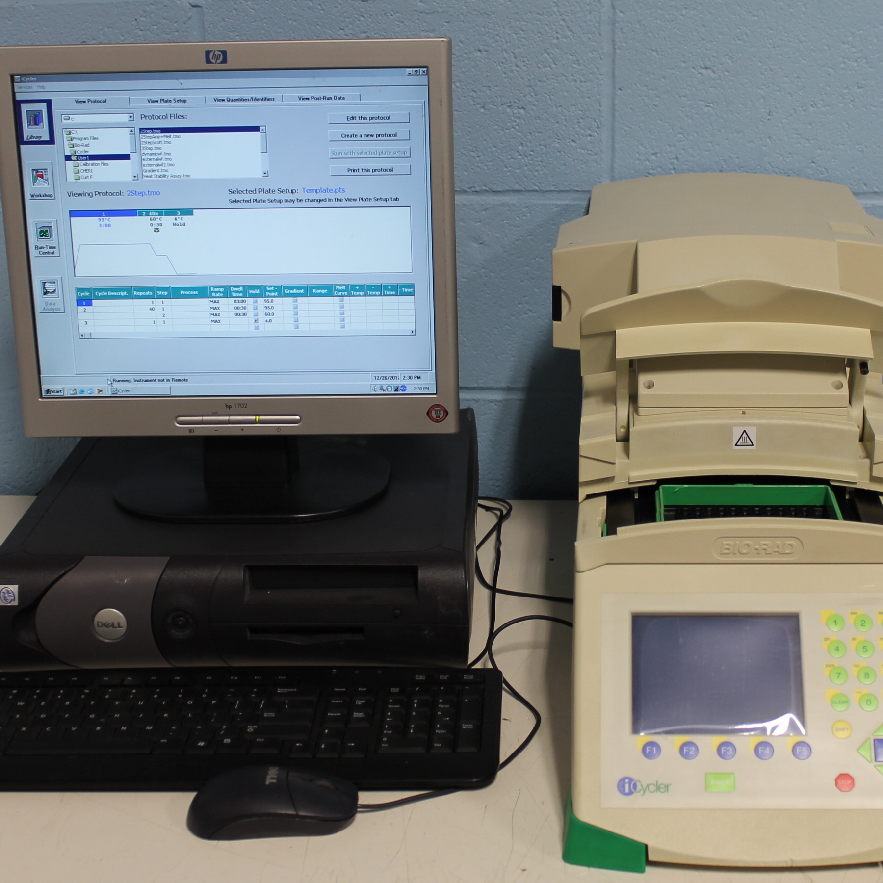 Bio-Rad iCycler Thermal Cycler with Bio Rad Icycler Optical Module Image