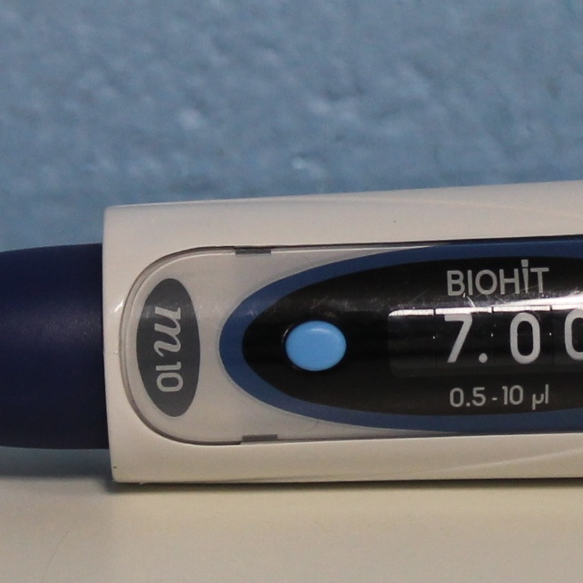 BioHit mLINE M10 0.5-10uL Single Channel Pipette Image
